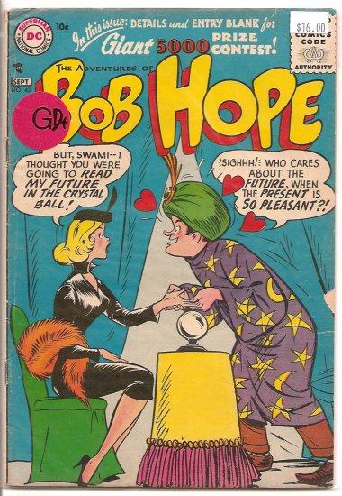 Adventures of Bob Hope # 40, 2.5 GD +