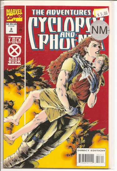 Adventures of Cyclops and Phoenix # 3, 9.2 NM -