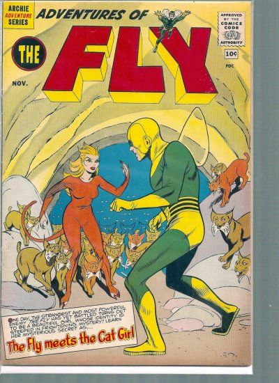 ADVENTURES OF THE FLY # 9, 4.5 VG +