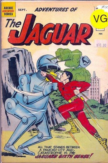 Adventures of the Jaguar # 14, 4.5 VG +