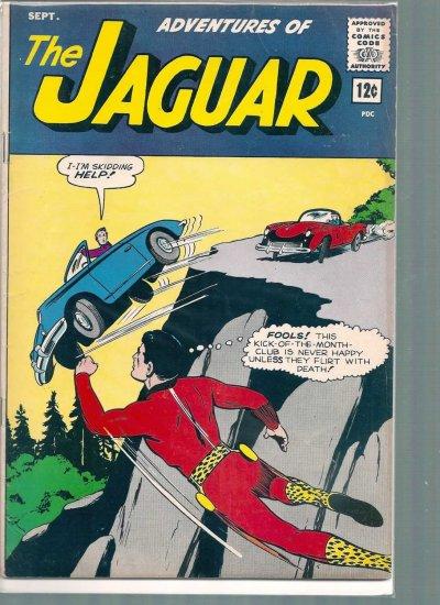 ADVENTURES OF THE JAGUAR # 14, 4.0 VG