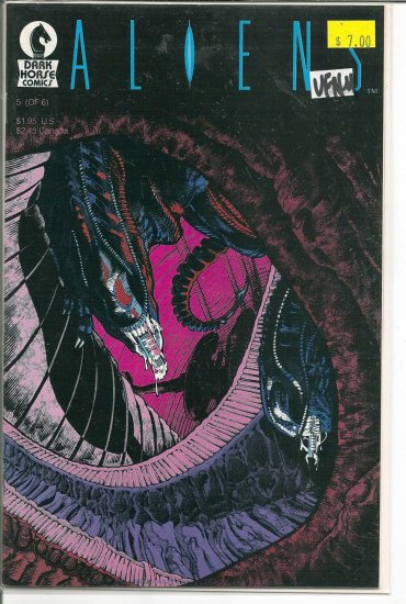 Aliens # 5, 9.0 VF/NM
