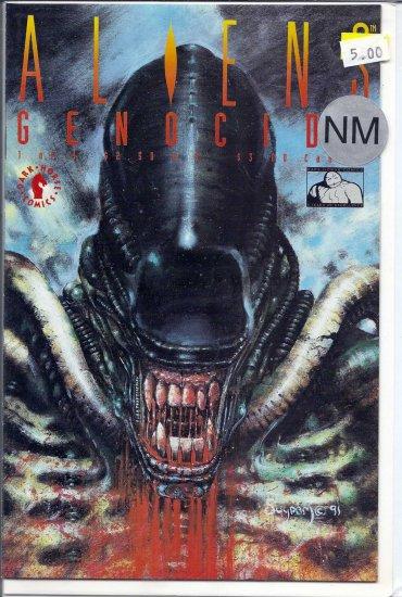 Aliens Genocide # 1, 9.4 NM