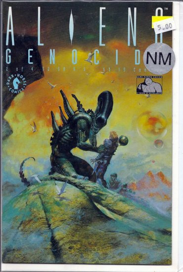 Aliens Genocide # 2, 9.4 NM