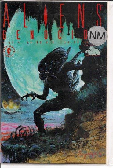 Aliens Genocide # 3, 9.4 NM