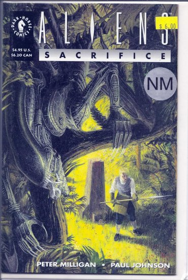 Aliens Sacrifice # 1, 9.4 NM