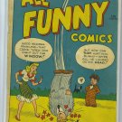 All Funny Comics # 8, 2.5 GD +