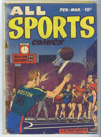 All Sports Comics # 3, 1.5 FR/GD