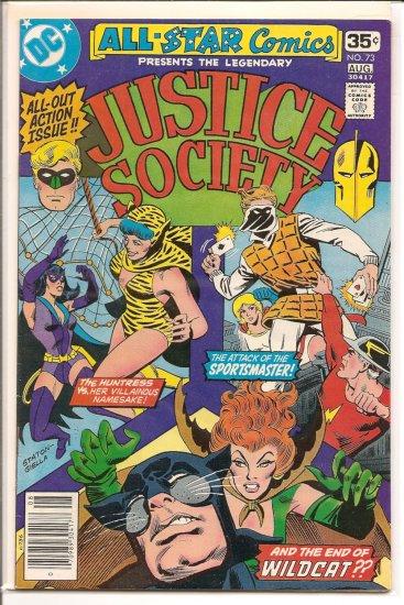 All Star Comics # 73, 4.5 VG +