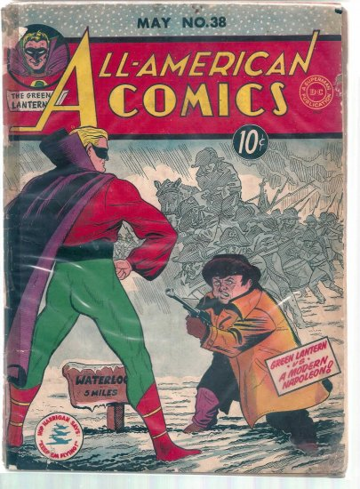 ALL-AMERICAN COMICS # 38, 1.5 FR/GD