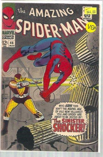 AMAZING SPIDER-MAN # 62, 4.5 VG +