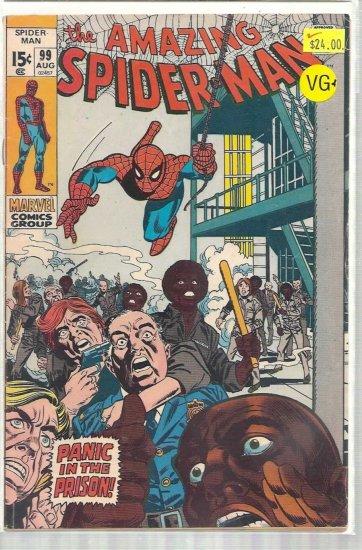 AMAZING SPIDER-MAN # 99, 4.5 VG +