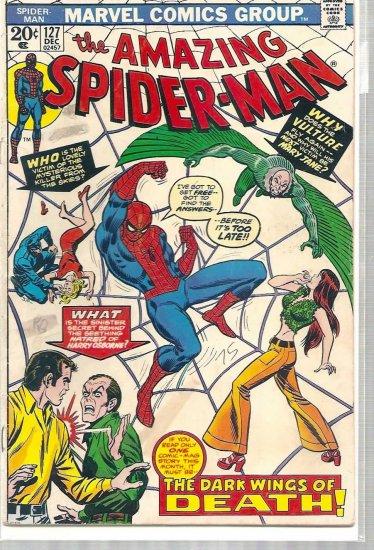 AMAZING SPIDER-MAN # 127, 4.0 VG