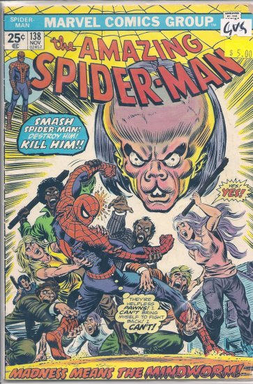 Amazing Spider-Man # 138, 3.0 GD/VG