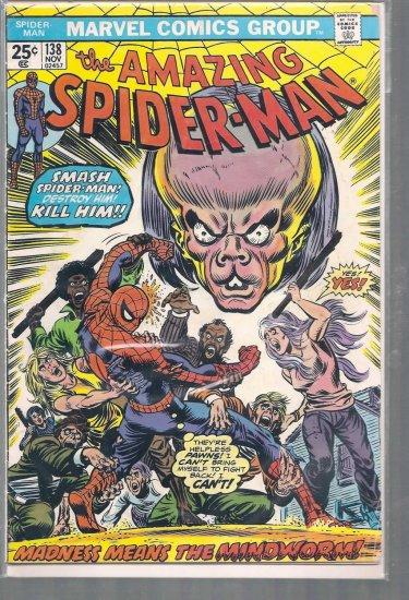 AMAZING SPIDER-MAN # 138, 2.5 GD +