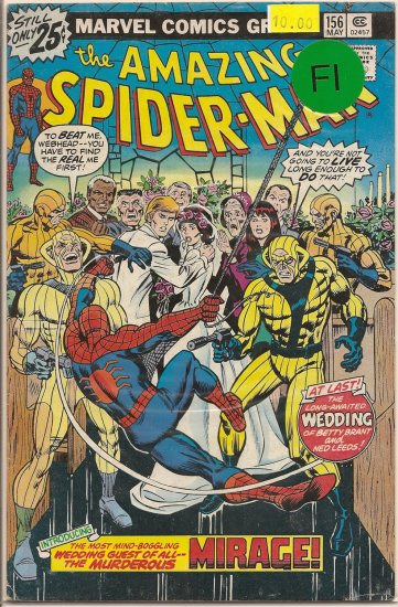 Amazing Spider-Man # 156, 6.0 FN