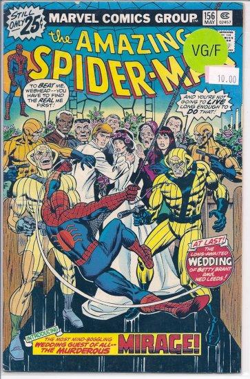 Amazing Spider-Man # 156, 5.0 VG/FN