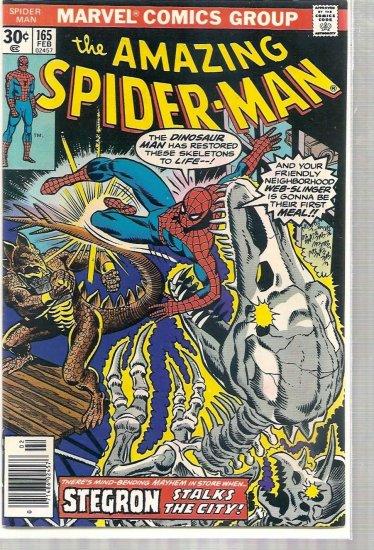 AMAZING SPIDER-MAN # 165, 7.0 FN/VF