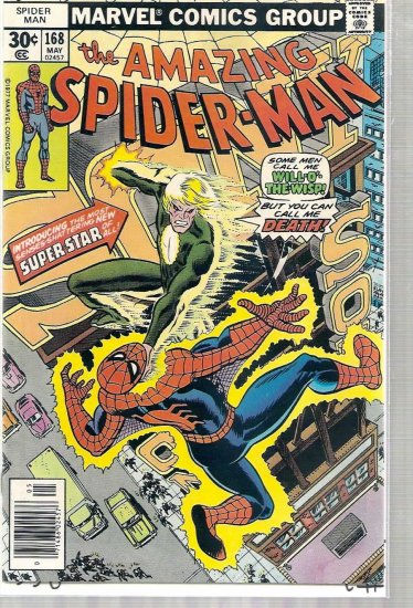 AMAZING SPIDER-MAN # 168, 6.0 FN