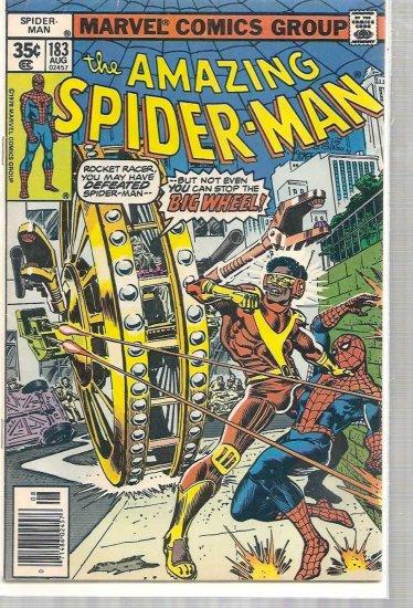 AMAZING SPIDER-MAN # 183, 4.0 VG