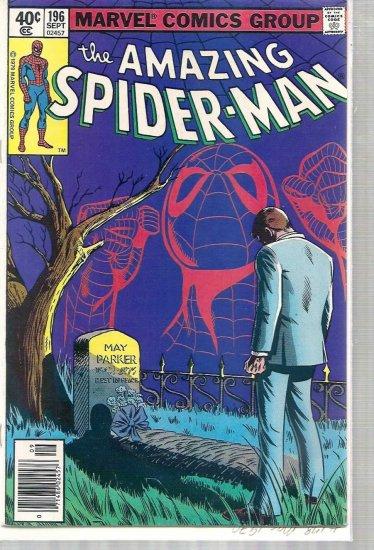 AMAZING SPIDER-MAN # 196, 6.0 FN
