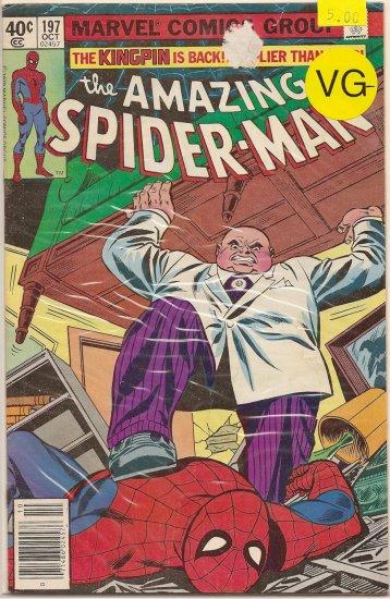 Amazing Spider-Man # 197, 3.5 VG -