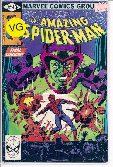 Amazing Spider-Man # 207, 4.0 VG