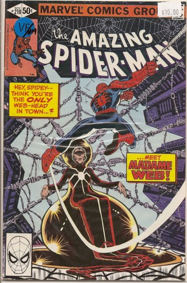Amazing Spider-Man # 210, 9.0 VF/NM