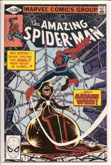 Amazing Spider-Man # 210, 6.0 FN