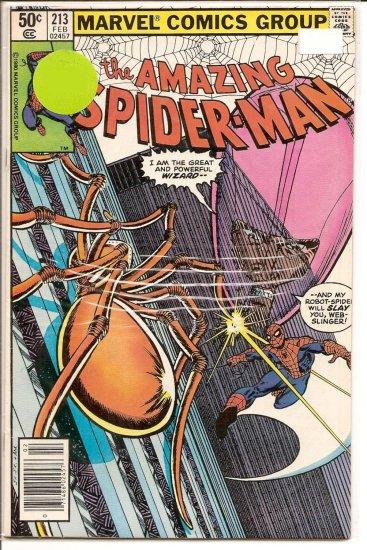 Amazing Spider-Man # 213, 5.0 VG/FN