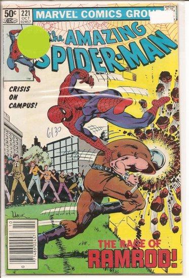 Amazing Spider-Man # 221, 6.5 FN +