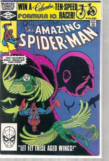 AMAZING SPIDER-MAN # 224, 5.5 FN -