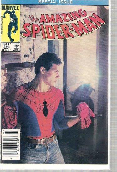 AMAZING SPIDER-MAN # 262, 4.5 VG +
