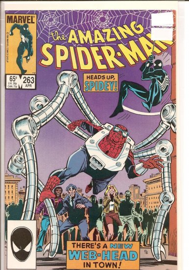 Amazing Spider-Man # 263, 9.4 NM