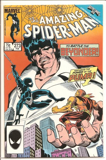 Amazing Spider-Man # 273, 8.0 VF