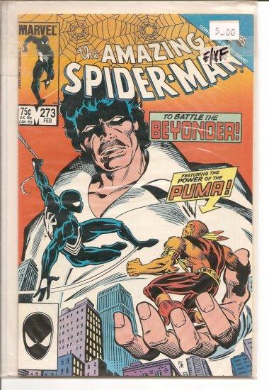 Amazing Spider-Man # 273, 7.0 FN/VF