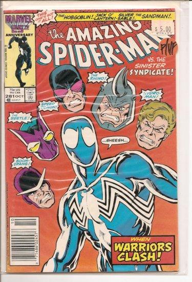 Amazing Spider-Man # 281, 7.0 FN/VF