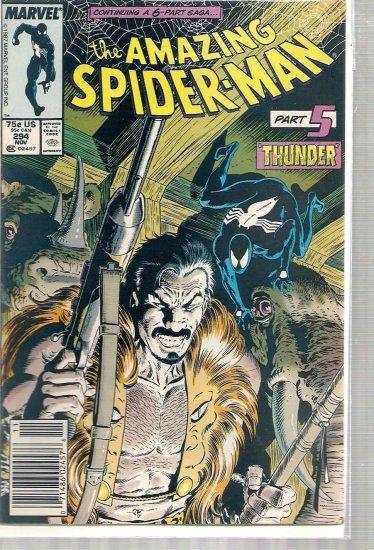 AMAZING SPIDER-MAN # 294, 6.0 FN