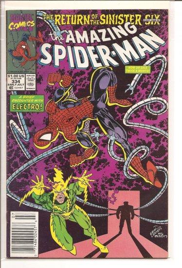 Amazing Spider-Man # 334, 5.0 VG/FN