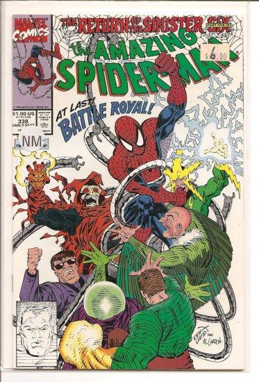 Amazing Spider-Man # 338, 9.2 NM -