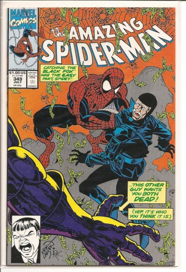 Amazing Spider-Man # 349, 9.2 NM -
