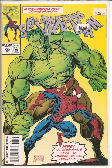 Amazing Spider-Man # 382, 9.4 NM