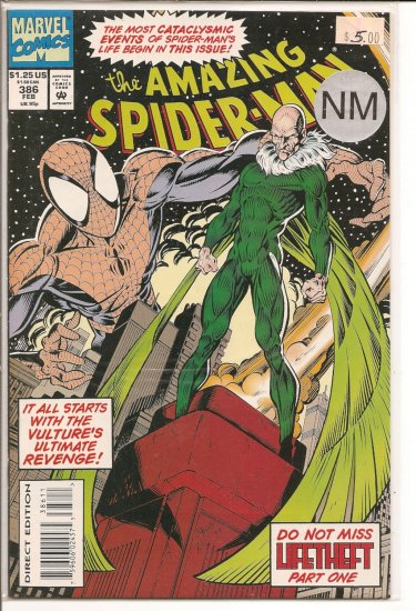 Amazing Spider-Man # 386, 9.4 NM