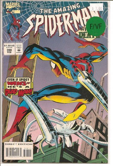 Amazing Spider-Man # 398, 7.0 FN/VF