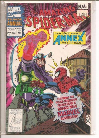 Amazing Spider-Man Annual # 27, 9.4 NM