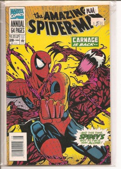 Amazing Spider-Man Annual # 28, 9.2 NM -