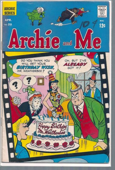 ARCHIE AND ME # 20, 4.5 VG +