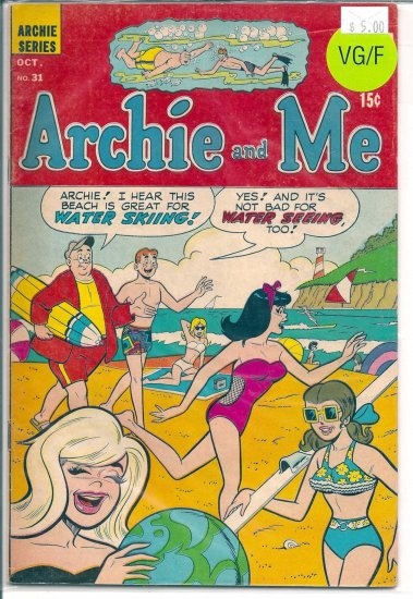 Archie And Me # 31, 5.0 VG/FN