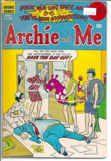 Archie And Me # 36, 4.5 VG +