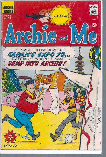 ARCHIE AND ME # 37, 4.0 VG